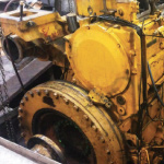 MECHANICAL MARINE DIESEL ENGINE REPAIR: PORT SIDE MAIN ENGINE & REDUCTION GEAR